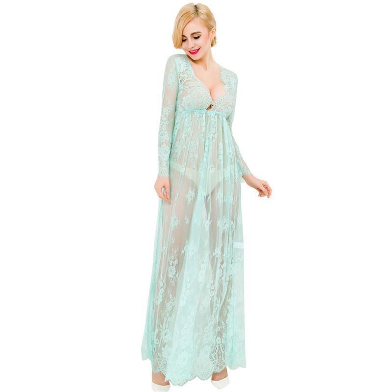 15 Robas de lencería de Femmes Langerie Peignoir Pijama Femme Ropa de dormir para mujer Perspectiva Perspectiva de manga corta de verano Capris ocio nosotros WSAP