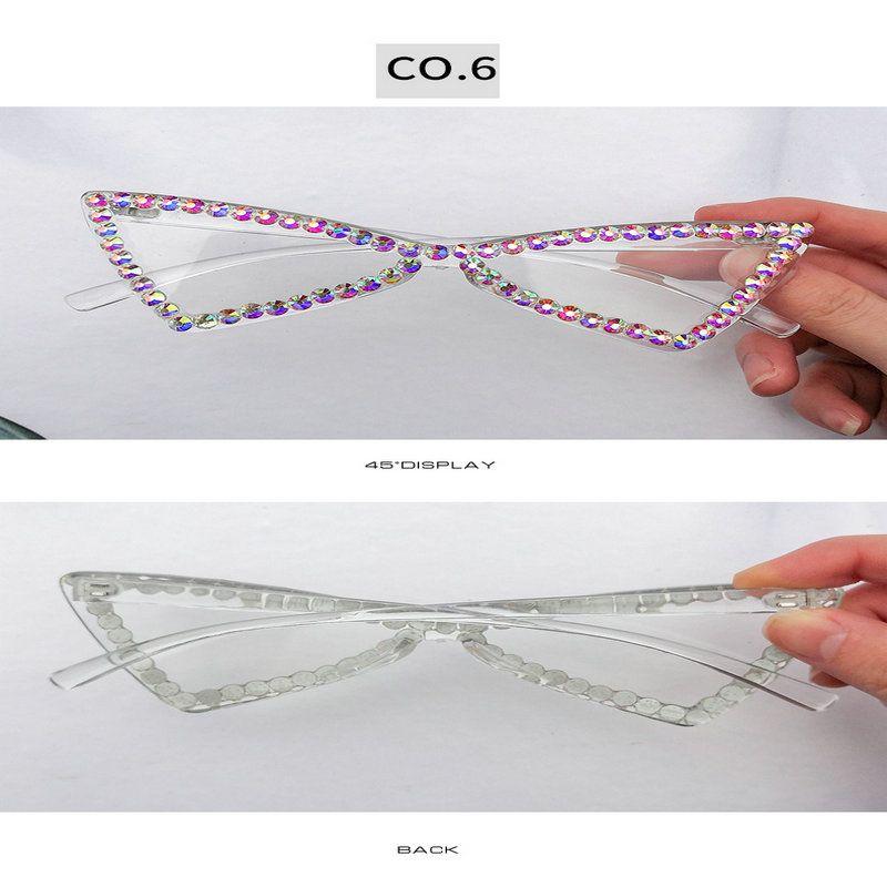 moda Kristal elmas Ne sokak sahnesinde güneş gözlüğü Kristal Güneş mrTtq MlNSt için online alışveriş ve değerlendirmeden