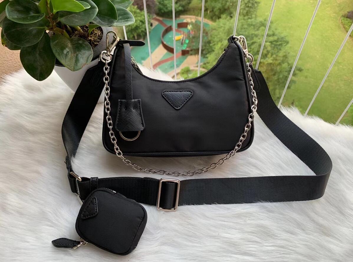 2020 Deisigner плечо сумка для женщин Chest пакет леди Tote цепи сумки дальнозоркостью кошелек мешок посыльного сумки конструктора холст оптовой