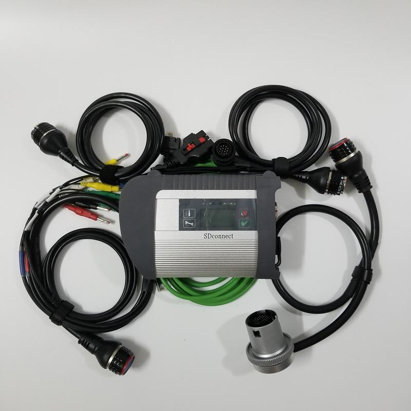 2020 고품질 MB 스타 SD 연결 C4 진단 도구 메르세데스 벤츠 SD C4와 와이파이 DHL 무료 배송