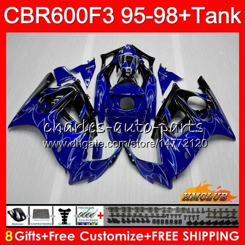 ボディ+タンク用Honda CBR 600F3 600CC CBR600 F3 95 96 97 98 41HC.118 CBR 600 F3 CBR600FS CBR600F3 1995 1996 1997 1997 1997 1997 1997 1997