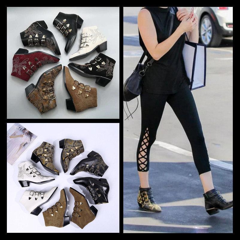 Марка Fashion Desert Boot Дизайнерская женская обувь Роскошные фирменные женские ботинки Martin Кожаные негабаритные ботильоны на толстом каблуке походные ботинки