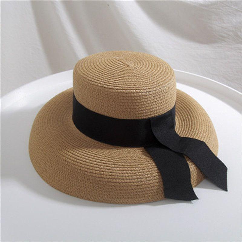 Cappelli estivi delle donne di modo Cappucci larghi della tesa del bordo Cappelli all'aperto della protezione solare della spiaggia della protezione solare della protezione solare del cappello della protezione solare della signora