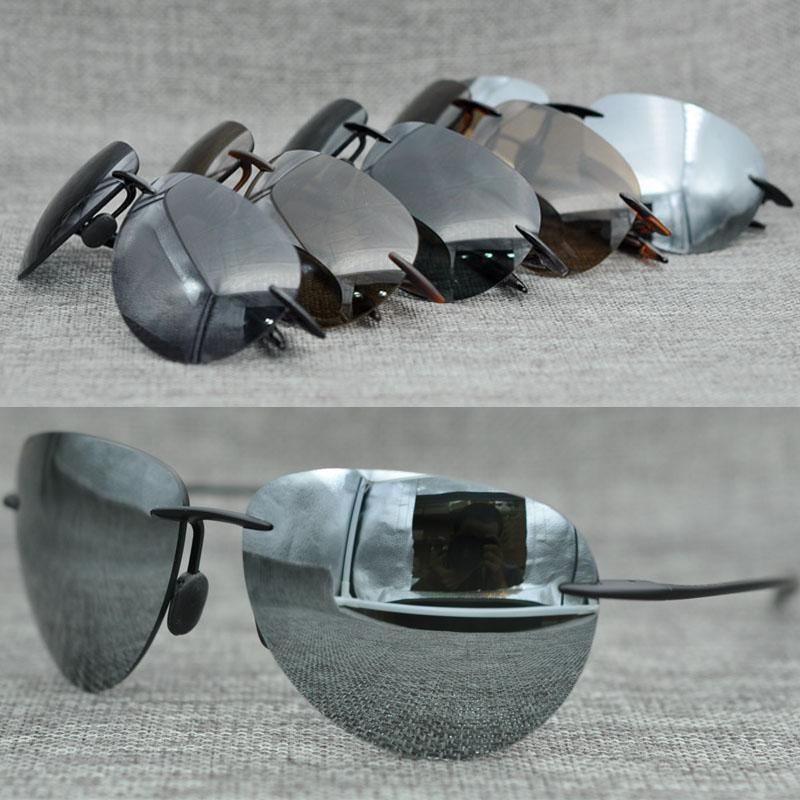 Gli uomini all'ingrosso del progettista di Top-Quality degli occhiali da sole di marca che ciclano gli occhiali Sport d'acqua all'aperto che guida gli occhiali da sole di pesca per l'uomo viene con il caso