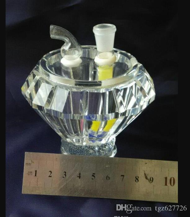 Diamond Crystal кальян, Оптовая бонги Oil Burner Трубы
