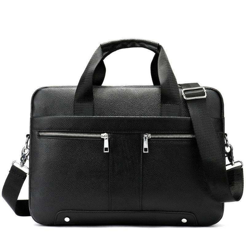 2020 Male Pacco messaggero genuino del sacchetto di uomini in pelle Business Affairs Cartella bovina capa di strato Single Man Shoulder Handbag