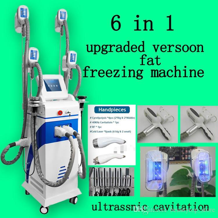 graisse congélation cellulite enlèvement machine nouvelle graisse congélation 4 poignées cryolipolysis ultrasons cavitation rf laser machine