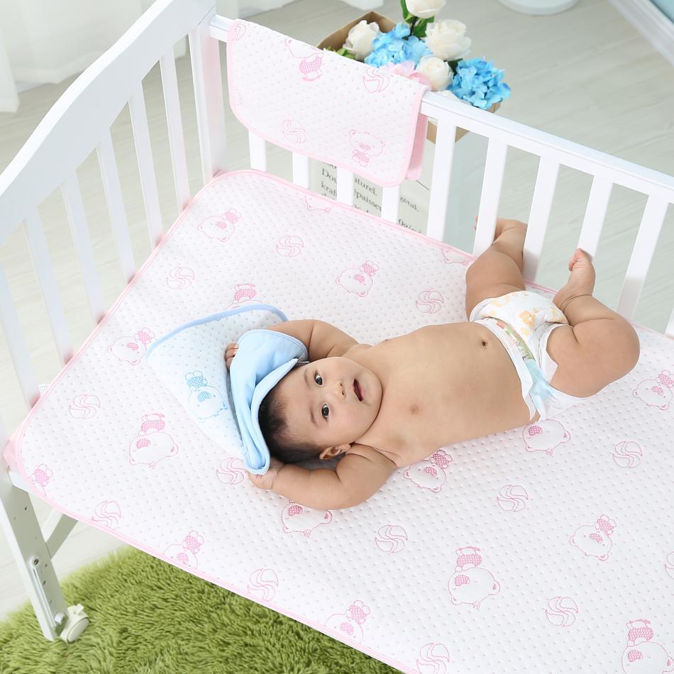 Wiederverwendbare und Wasserdichte Bettlaken Protector Atmungsaktive Erwachsene Inkontinenz Bett Pad Matratze protector inkontinent waschbar