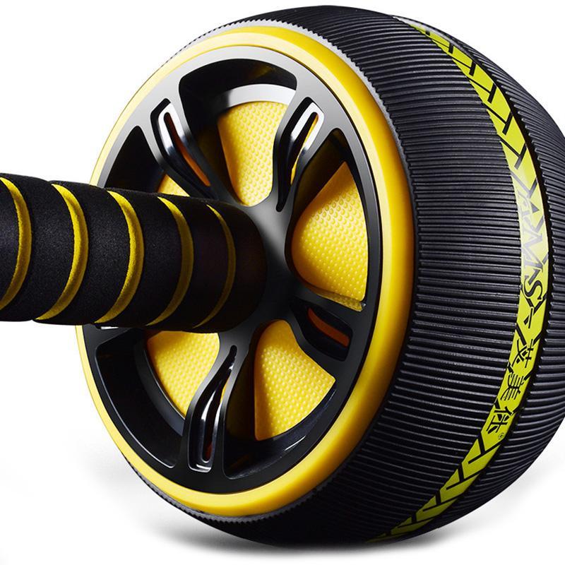 ¡TOP!-Ab rodillo Abdominal antideslizante cuerpo edificio Ab rueda multifunción Ab ejercitador casa Fitness entrenador con envío rápido