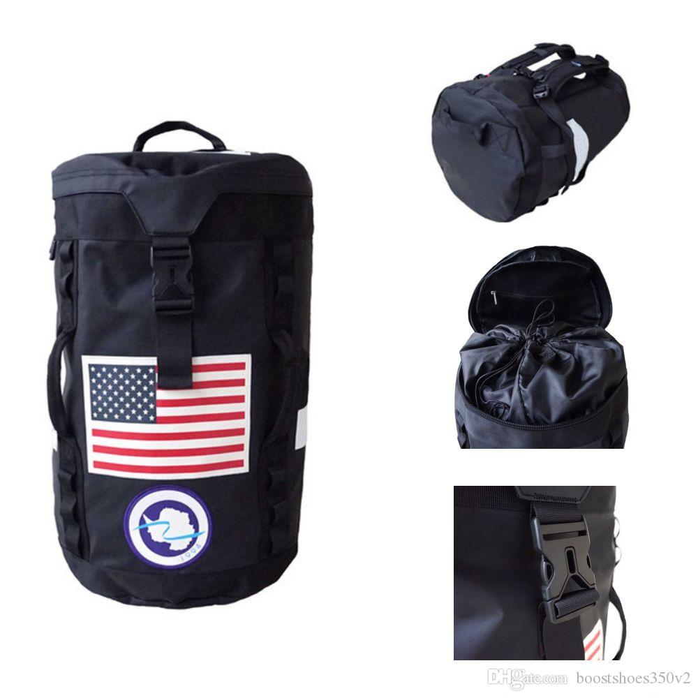 New Box Life Skateboards Stylist Bags 19ss Men Women Duffle Bag Large Capacity Camping Bag Stylist Duffle Bag