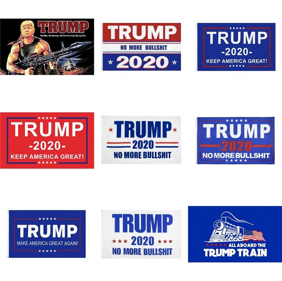 90 * 150cm Liplasting Trump 2020 Bandeira Donald Flags Keep America Great Again poliéster Decor bandeira para o presidente da bandeira dos EUA Bandeira Eleição # 478