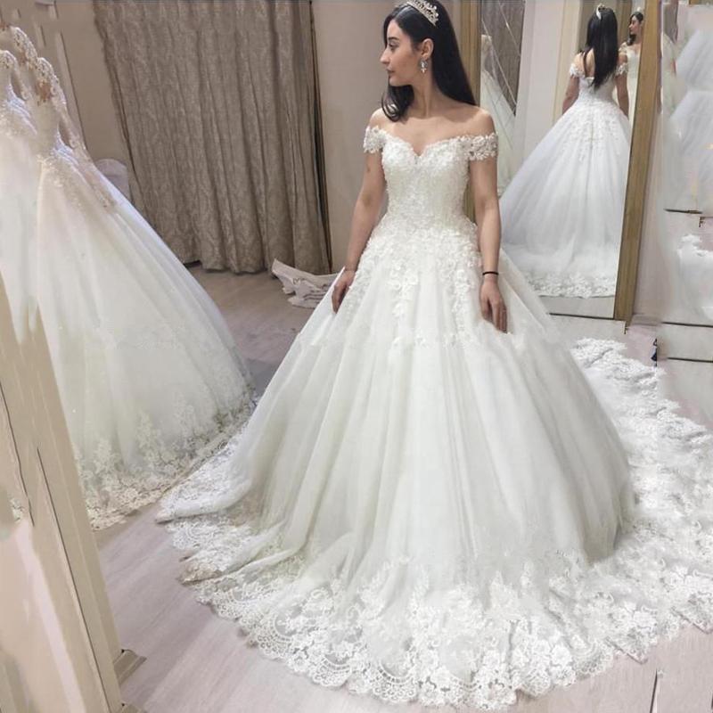 очаровательные с плеча линии свадебные платья на заказ страна сад кружева аппликация свадебные платья обратно зашнуровать свадебные платья