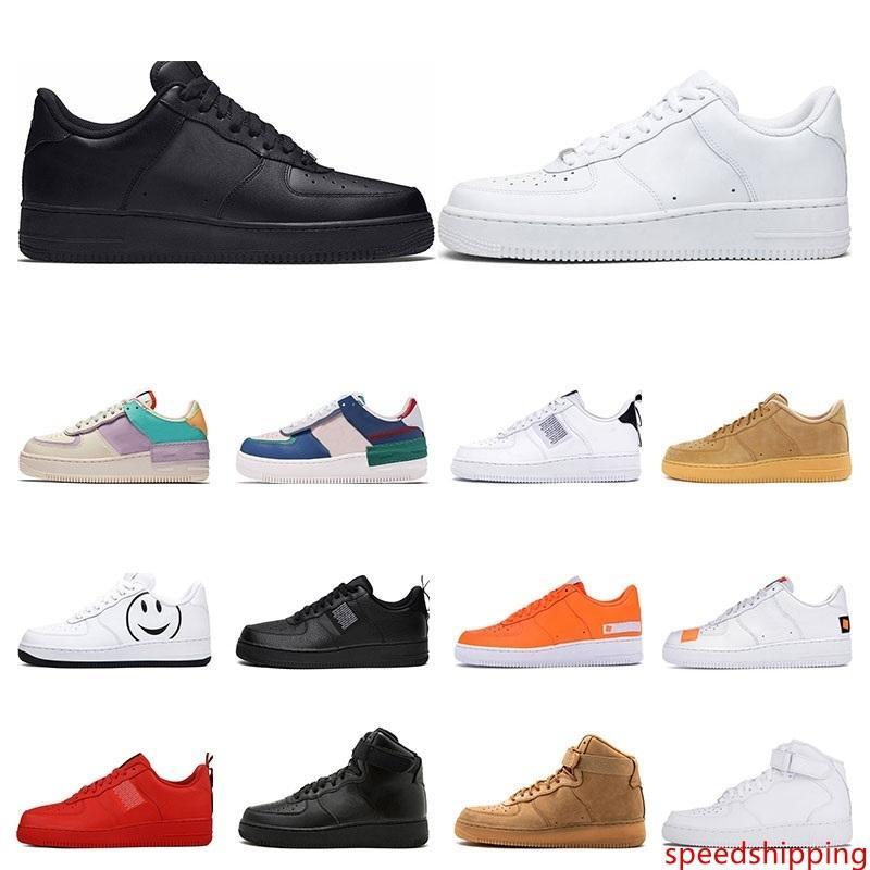 2020 mens utilidad de la marina de guerra Mystic negro blanco de tres voltios oliva rojo de moda zapatillas de deporte de lino de las mujeres ocasionales de la plataforma de tamaño 36-45 zapatos del patín