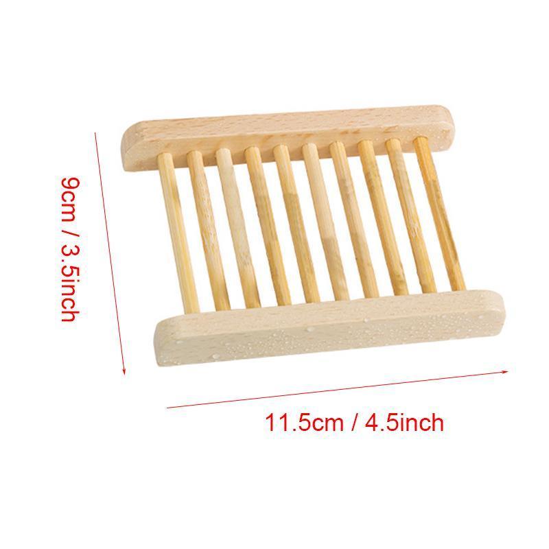 Sapone Naturale piatto di legno Supporto di legno del vassoio del sapone creativo bagagli Soap Rack Piastra contenitore della scatola per il bagno accessori per doccia Bagno DBC