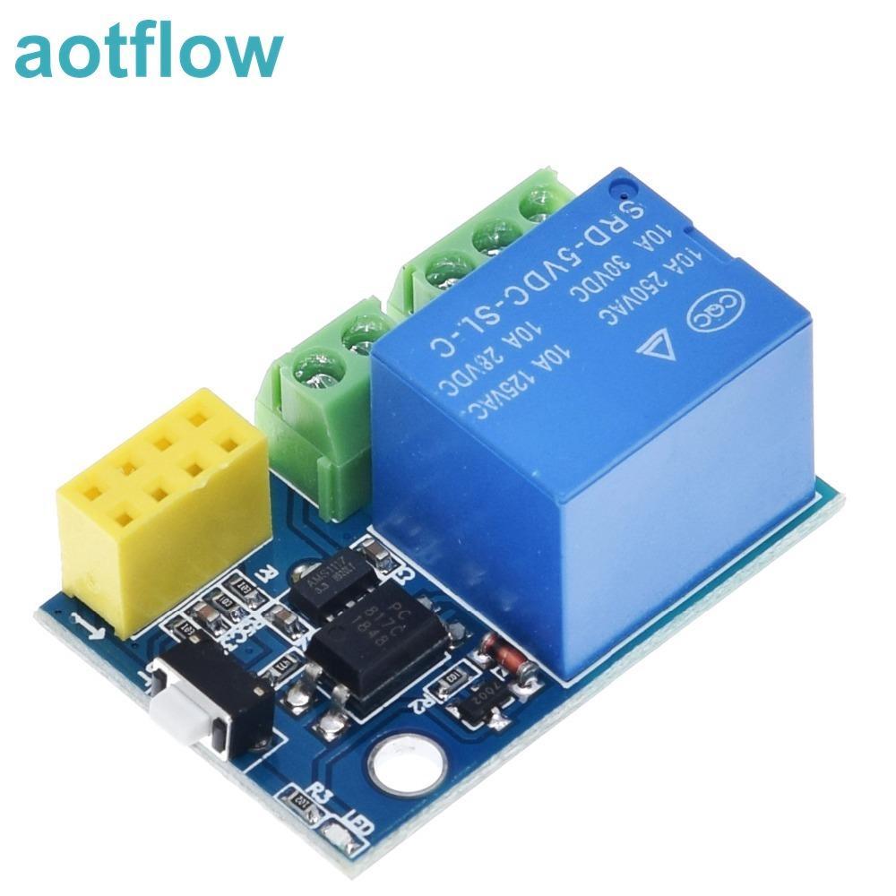 Relay Module(ESP8266 ESP-01S 5V WiFi) Things Smart Home Remote Control Switch for Arduino And Control via Phone APP