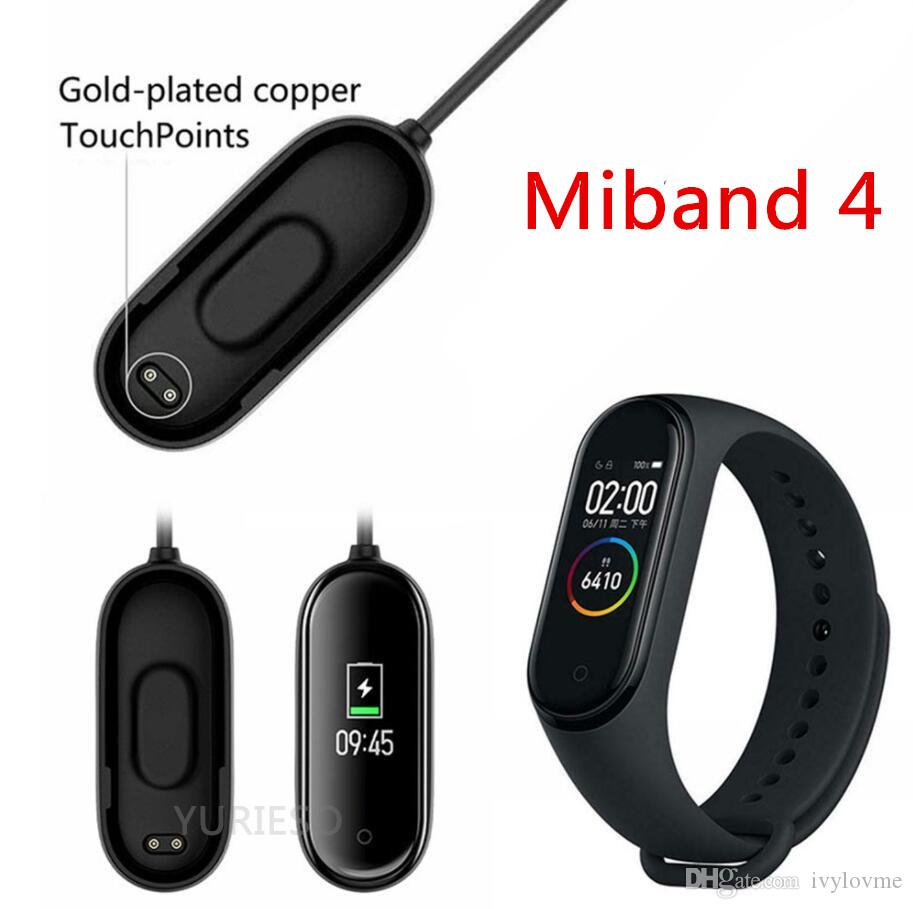 USB Chargers For Xiaomi Mi Band 4 Charger Smart Band Wristband Bracelet Charging Cable For Xiaomi MiBand 4 Charger Line