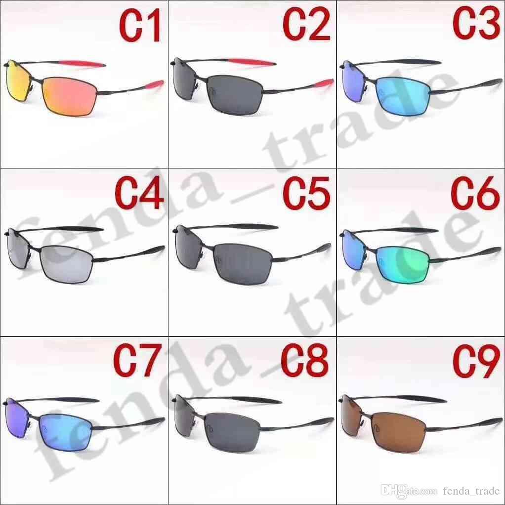 Verão 5 PCS VENDA QUENTE marca NOVA condução homem óculos de sol Esportes homens óculos de armação de metal polarizada óculos de Sol óculos de Viagem das mulheres