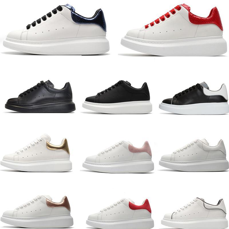 TOP Hayır Kutusu Siyah Womens Chaussures Ayakkabı Güzel Platformu Casual Sneakers Lüks Tasarımcılar Ayakkabı Deri Katı Renkler Ayakkabı Elbise