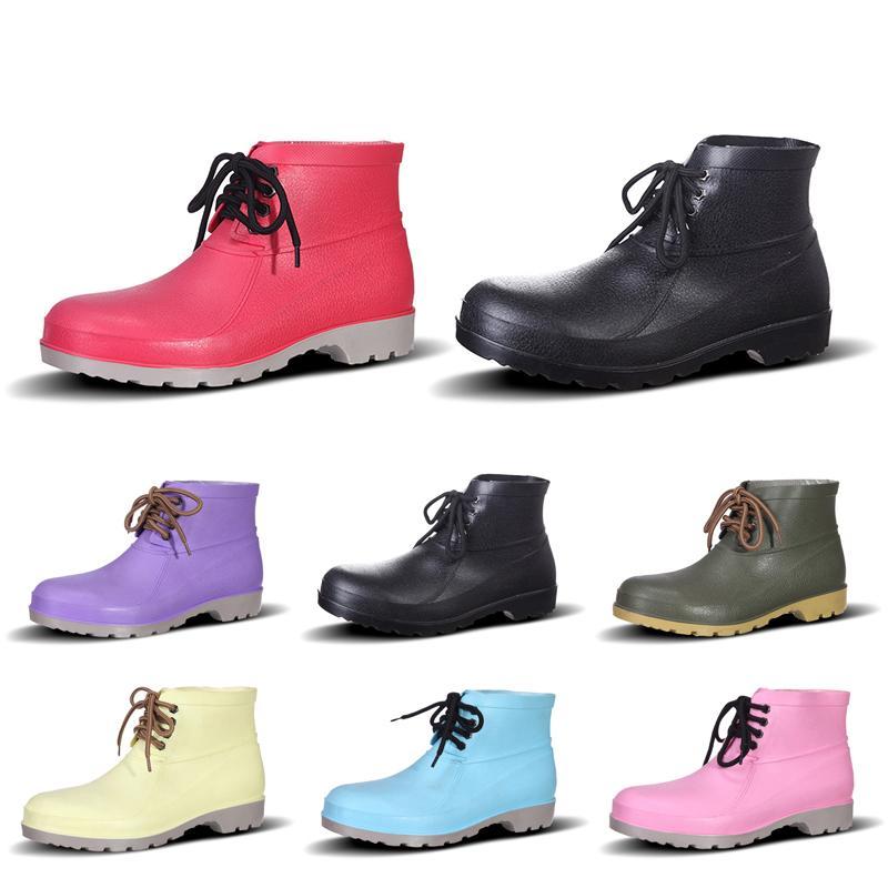 2020 Classic diseñador de moda los hombres de invierno de arranque original Castaño Triple Negro para hombre botas de combate de trabajo Martin nieve BOOTIE 40-44 estilo 58