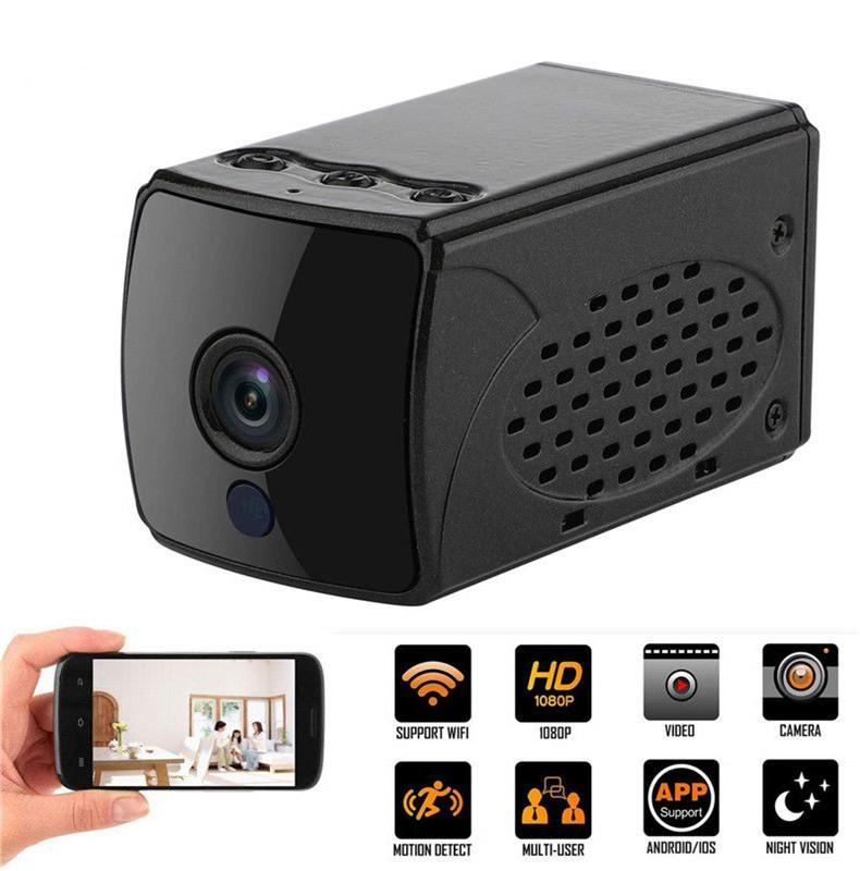 HD 1080P Wifi Mini Camera Home Security P2P IP Camera IR Night Vision Wireless network mini Camera Smart remote monitoring camcorder A14