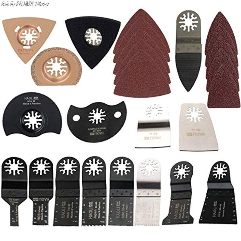 66 ensembles d'accessoires de trésor universels, y compris feuille de polissage pour lame de polissage, tampon de polissage, papier de verre