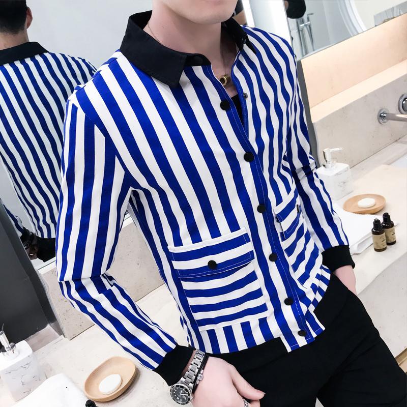 La nueva raya Homens chaqueta masculina Bombardero traje Streetwear Moda Vintage capa del juego casual de vestir exteriores Terno Masculino