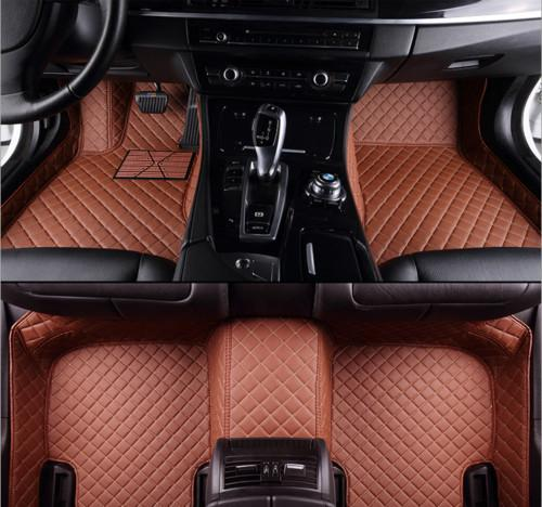 For Fit Car Floor Matst Front&Rear Liner Mat For Hyundai Elantra 2007~2016 waterproof floor mats