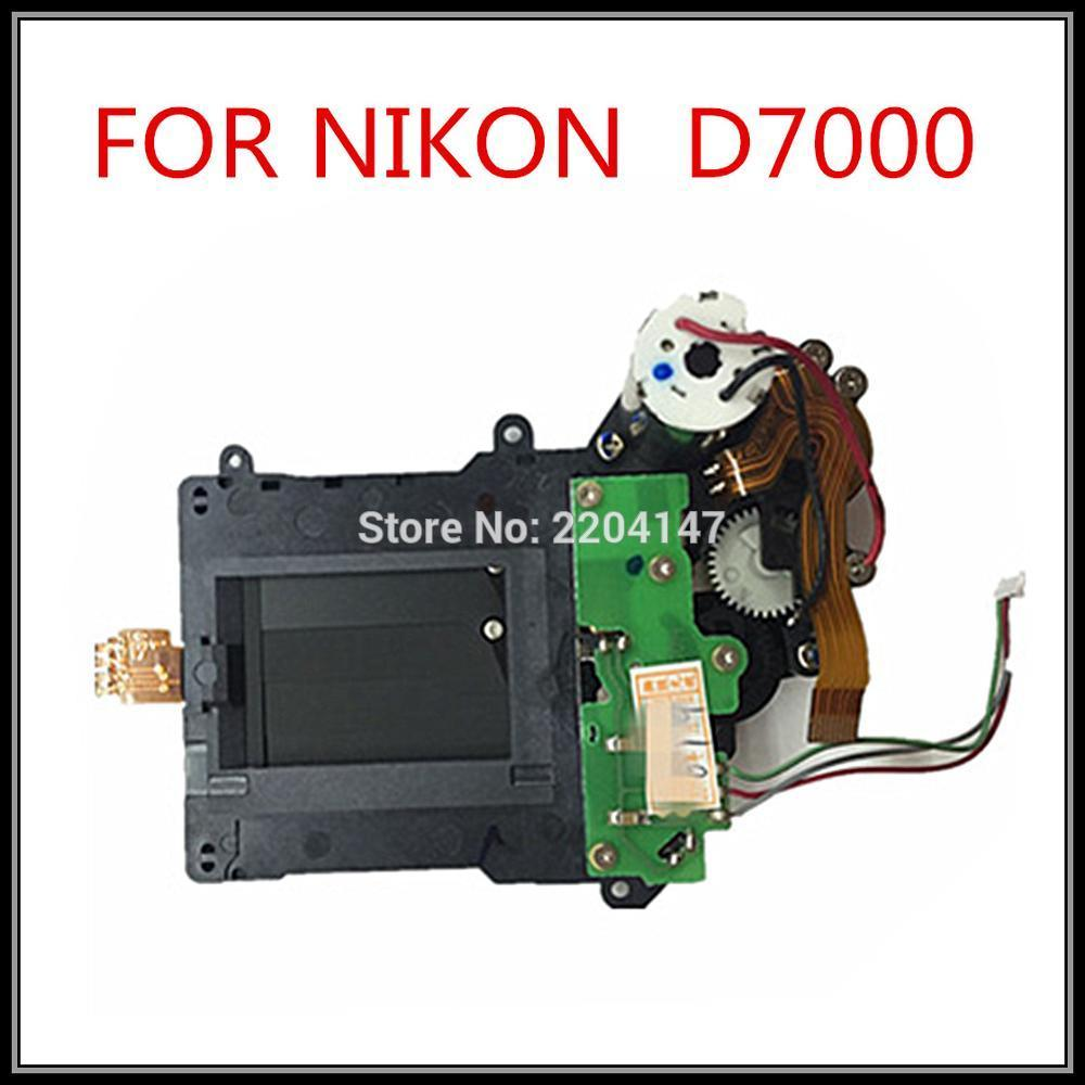 커튼, 모터와 함께 100 % 독창적 인 셔터를 Freeshipping Nikon D7000 카메라 수리 용 부품 조립 부품 부품 교체