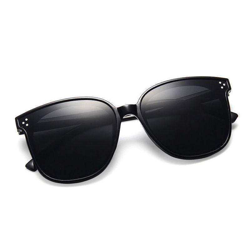 Drei-Nagel Sonnenbrille rote gleiche weibliche Sonnenbrille Netz empfohlen polarisierte Sonnenbrille Farbe