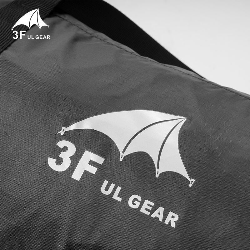 3F UL engrenagem dobrável grande tenda Duffel Travel Bag Storage Bag Handbag Para Casa Sports Camping Caminhadas
