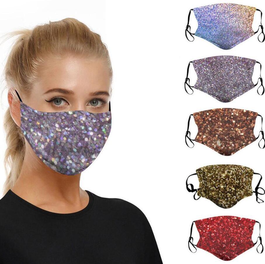 La impresión 3D de la lentejuela de la mascarilla a prueba de polvo a prueba de viento máscaras protectoras antiesmog lavables y reutilizables de la mascarilla del transpirable para el ciclismo