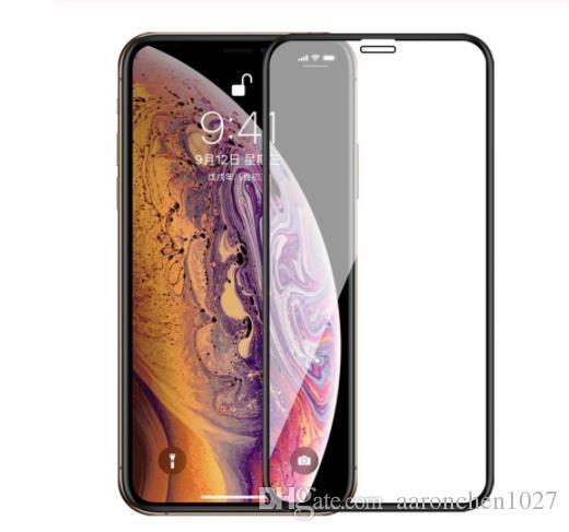Полное покрытие закаленное стекло для iPhone 11 Pro XS XR протектор экрана iPhone XS Max стекло на iPhone 6 6s 7 8 Плюс X защитное стекло