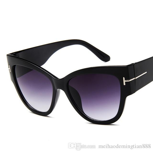 2019 yeni moda Güneş gözlüğü Kadınlar Marka Tasarım Klasik Moda Seksi Bayanlar Gradyan Güneş Gözlükleri óculos De Sol UV400