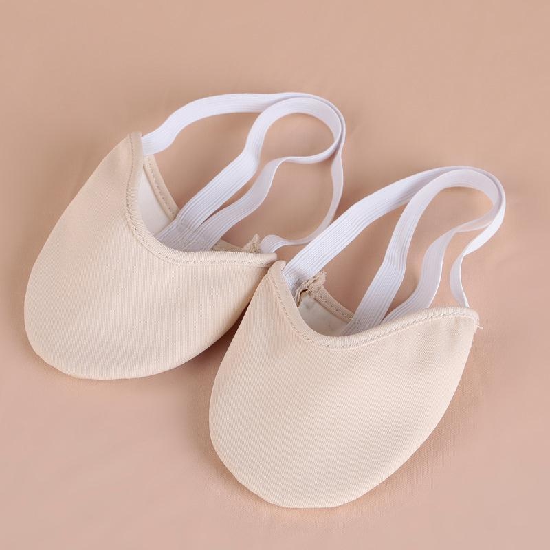 Профессиональная танцевальная одежда для женщин Балетки для танца живота Практика Обувь Колодки Стринги для ног