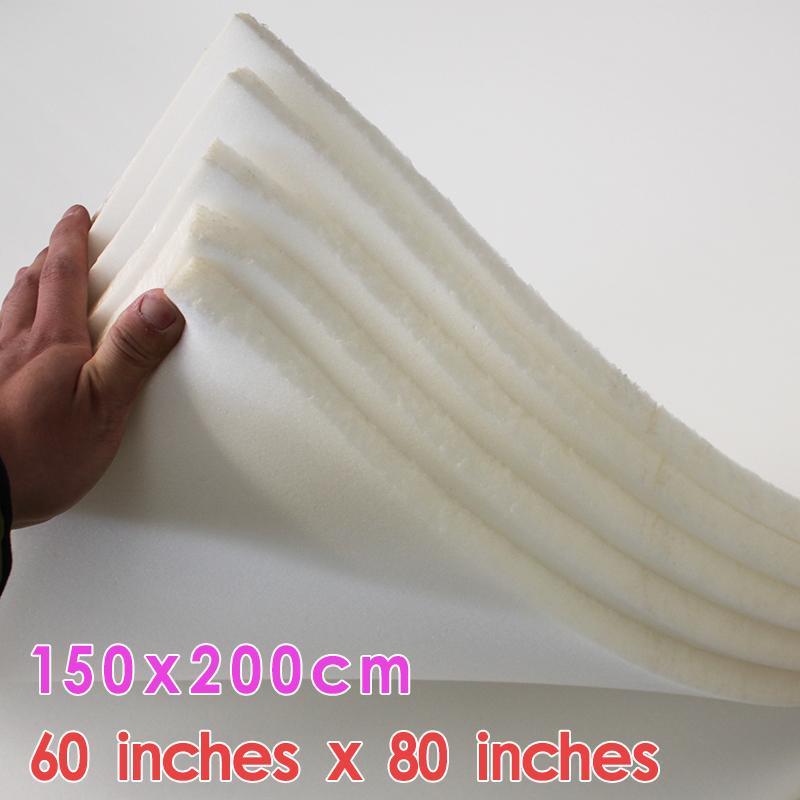 mousse ferme en mousse haute densité Chaise rembourrage coussin de remplacement de meubles Taille 60 « x80 » / 150cm X 200cm Livraison gratuite