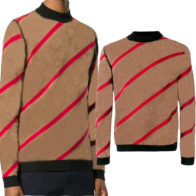 Мода Новый свитер пуловер Мужчины Толстовка с длинным рукавом Толстовка мужская осень Трикотаж зима Mens Tops одежды