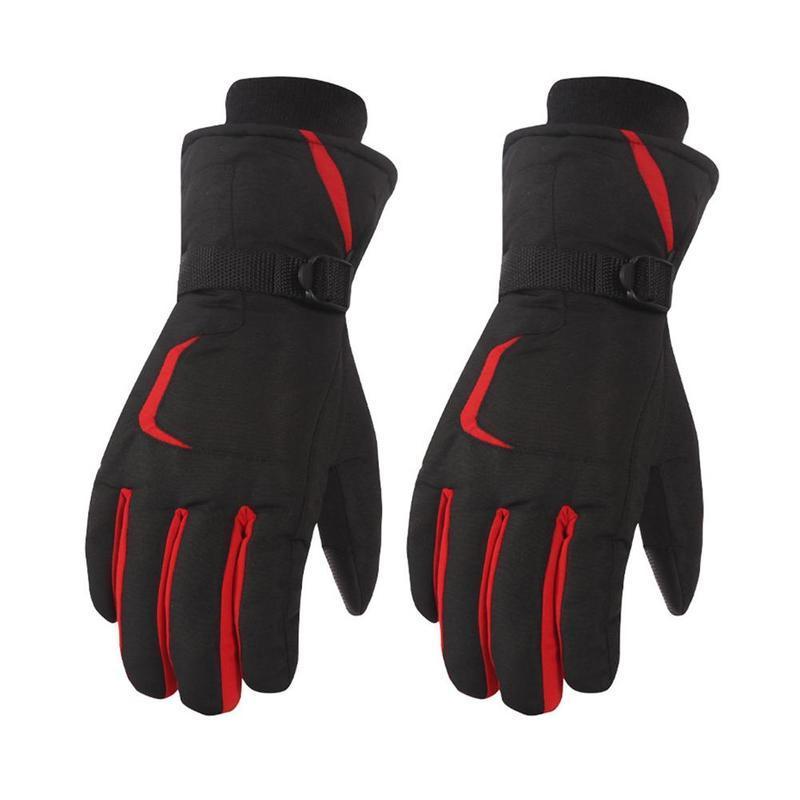 Womens Mens Winter Snow Ski Snowboard Glove Waterproof Thermal Motorcycle Glove