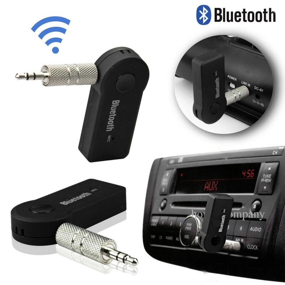 صوت Blutooth سوم Bleutooth مصغرة لاسلكية محمولة بلوتوث استقبال الصوت محول الموسيقى Aux 3.5mm رئيس MIC لاعب Portatil