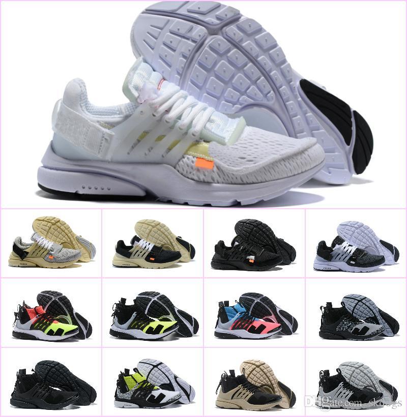 2019 Nuevo Original Presto V2 Ultra BR TP QS Negro X Zapatillas deportivas Barato Sports Women Men aI Prestos off Chaussures White Sneakers