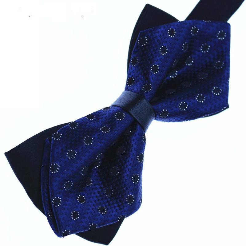 Nouveau Mode pour hommes Cravate British Fashion 100% polyester grille fine papillon Noeuds papillon 17 gros Couleurs Mode