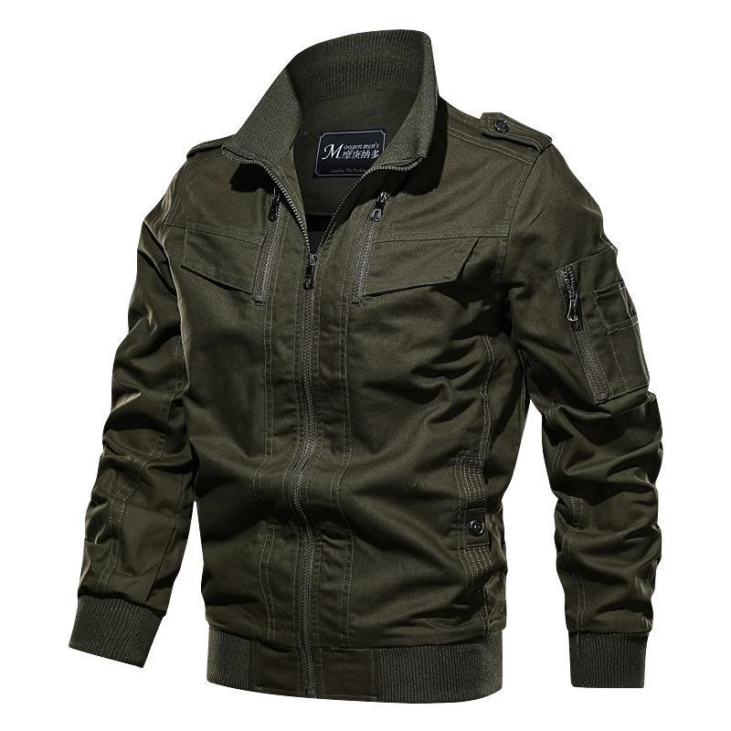 Army Green Color High Quality Fashion New Men Jacket Coat Tracksuit Cardigan Multi Men Coat Jacket Tour Size M- 6XL