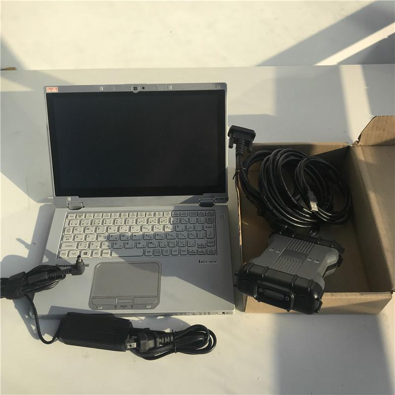 MB ستار C6 DoIP التشخيص معدد مع 2020.06V لينة وير Xn ضارة-محاولة مصغرة SSD وظيفة واي فاي تشخيص SD ربط C6 و CF-AX2 اللوحي المحمول