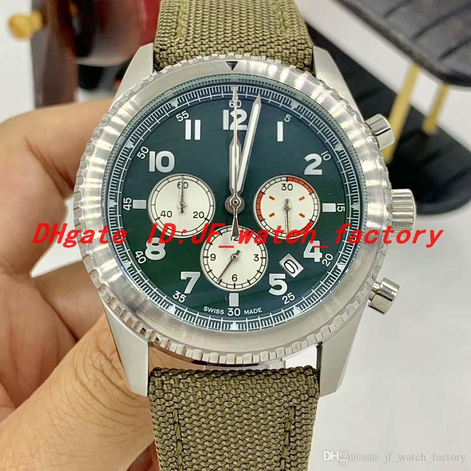 Retro Stil 1884 AB01192A1L1X2 montre de luxe erkek Curtis Warhawk Special Edition İzle Kuvars VK hareketi Paslanmaz çelik kasa