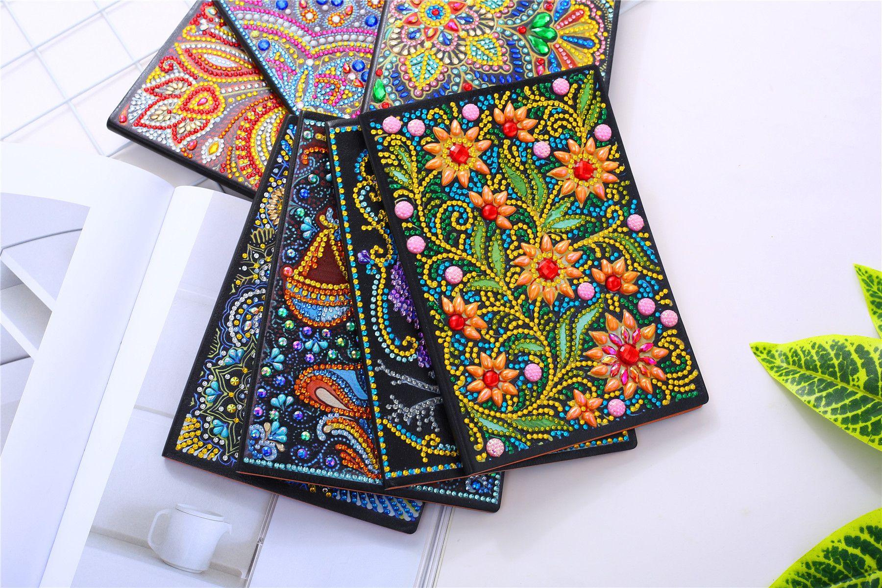 Diamond Painting Embroidery Cross Stitch Round Rhinestones Mosaic Kits Decor