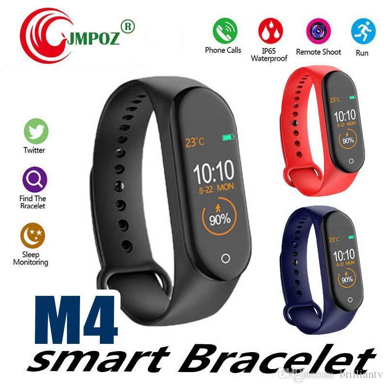 M4 Smart band 4 Heart Rate Blood Pressure Wristbands Sport Smartwatch Monitor Health Fitness Tracker smart Watch Wristband PK M3