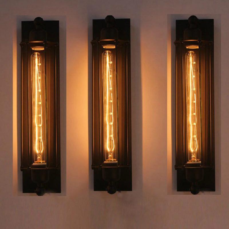 Industrial Vintage Wall Light Fer Retro Loft Lampe Chambre Couloir Entrepôt Aisle Restaurant Pub Cafe Bar Wall Sconce Lamp