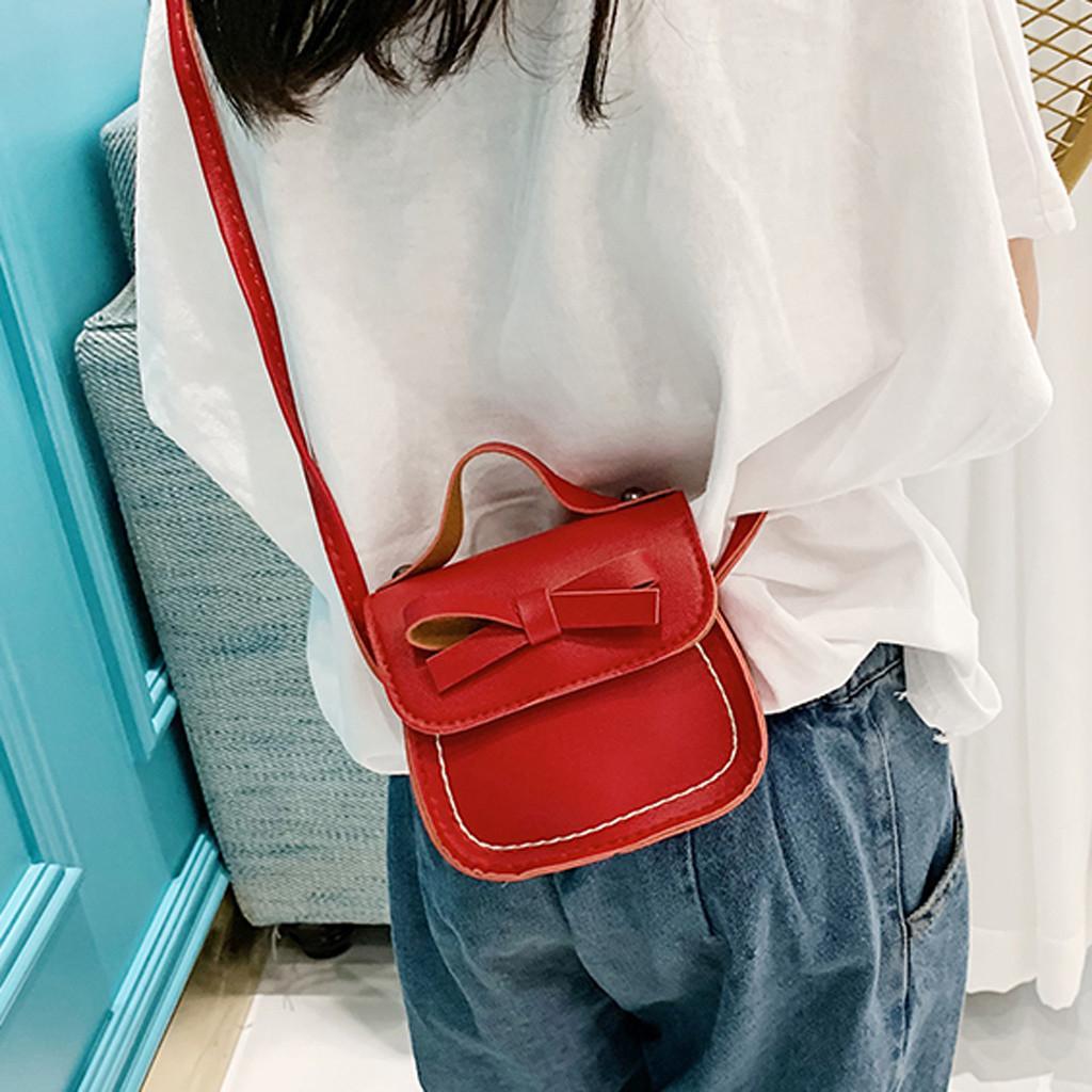 Женские сумки мода искусственная кожа сумки детская сумка лук сумка детская сумка-мессенджер кошелек