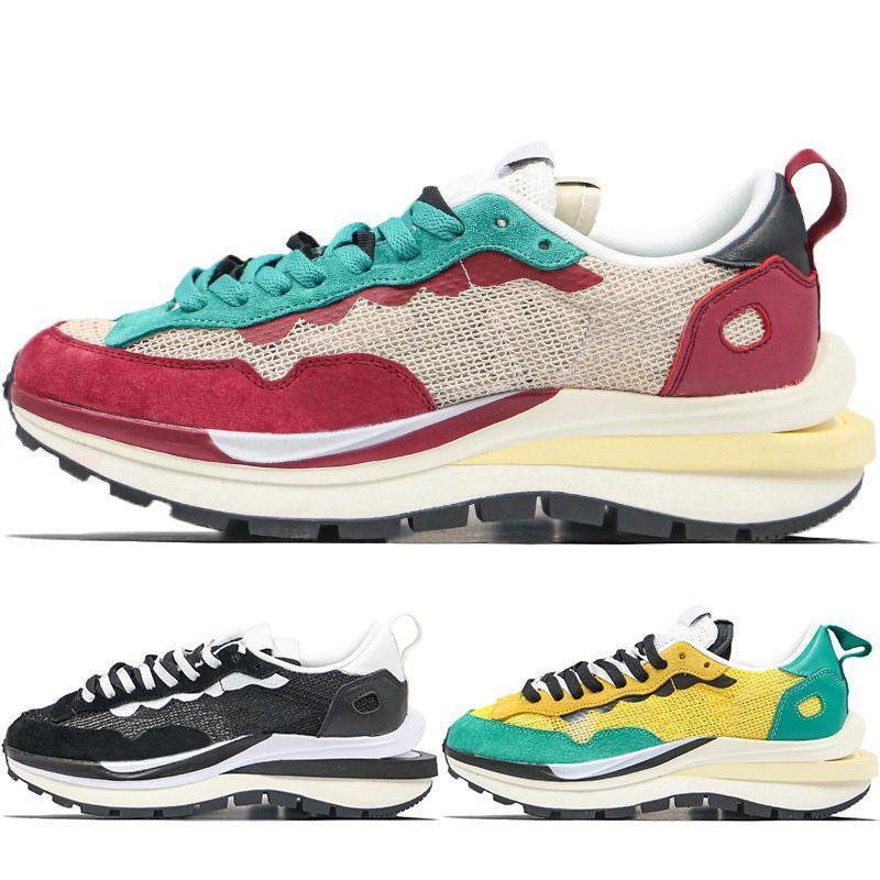 Sacai X Pegasus Vaporrly SP LDV Вафельные кроссовки мужчины женщины красный зеленый желтый черный белый мужские кроссовки бег трусцой Спортивные тренажеры размер 36-45