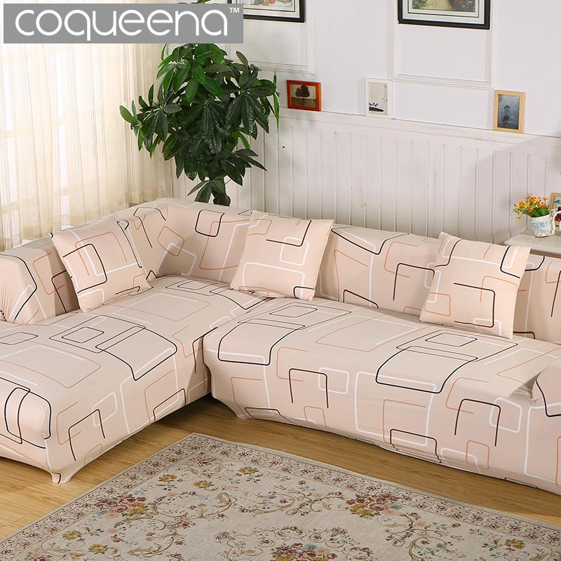 Universal Stretch Covers For Corner Sofa Sectional Couch Angular Armchair  Furniture Protector 1/2/3/4 Seater Home Textile Cheap Chair Cover Hire  Chair ...