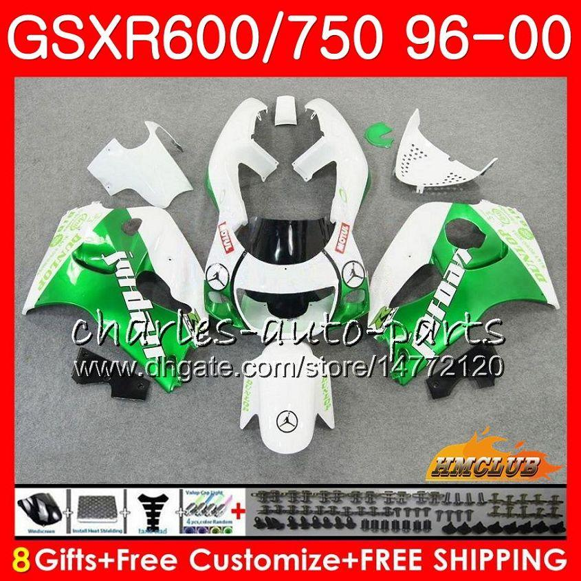 Complete Fairings For GSXR600 750 SRAD GSXR 600 750 96 97 98 99 GSX R600 R750 1996 1997 1998 1999 Motorcycle Fairing kit